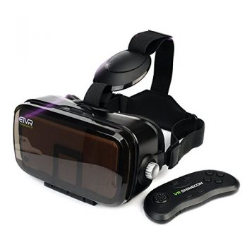 9ff95036d5b ETVR 3D VR Headset With Remote Controller-More Comfortable Virtual Reality  Headset VR Glasses For
